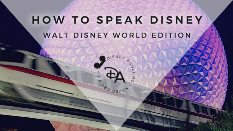 Adult Disney Guide common acron - disneyadulting | ello