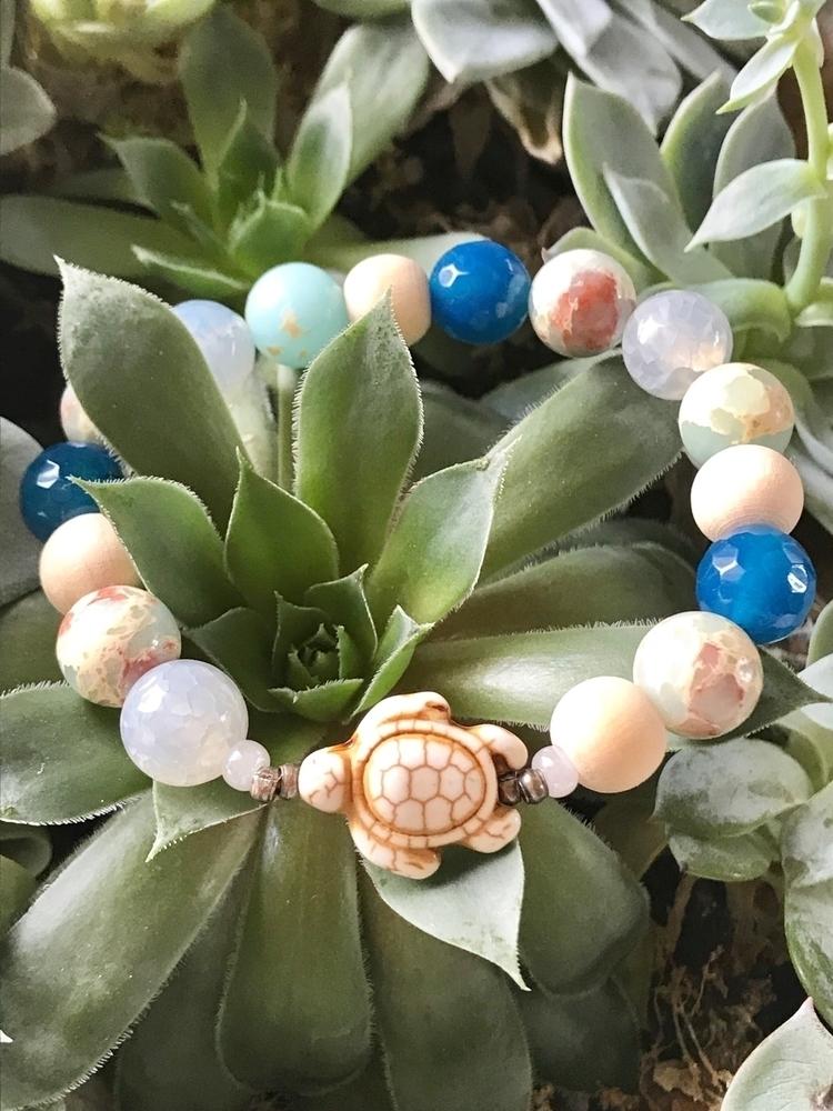 Turquoise Turtle Love ocean ins - theoilhavenboutique | ello