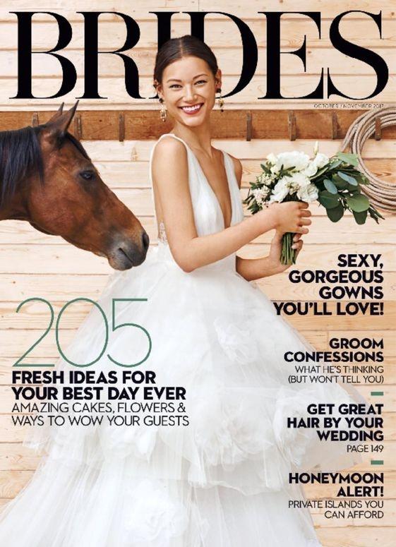 2017 Issue - Brides, Magazine, October/November - magazinecafestore | ello