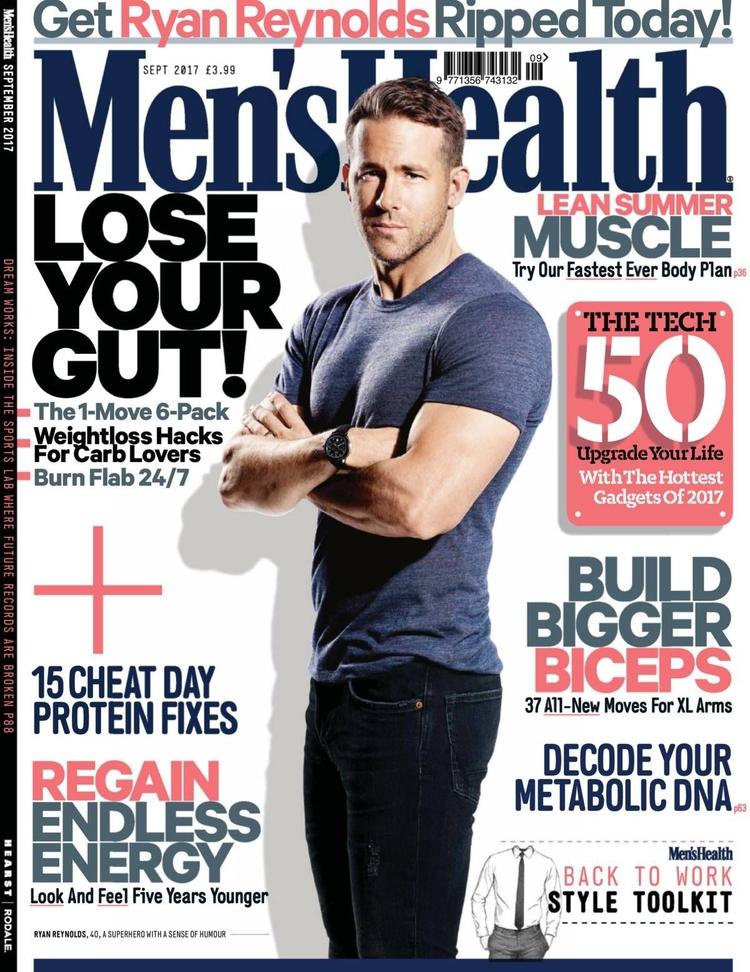 bodyguard Mens Health - UK, Magazine - magazinecafestore | ello