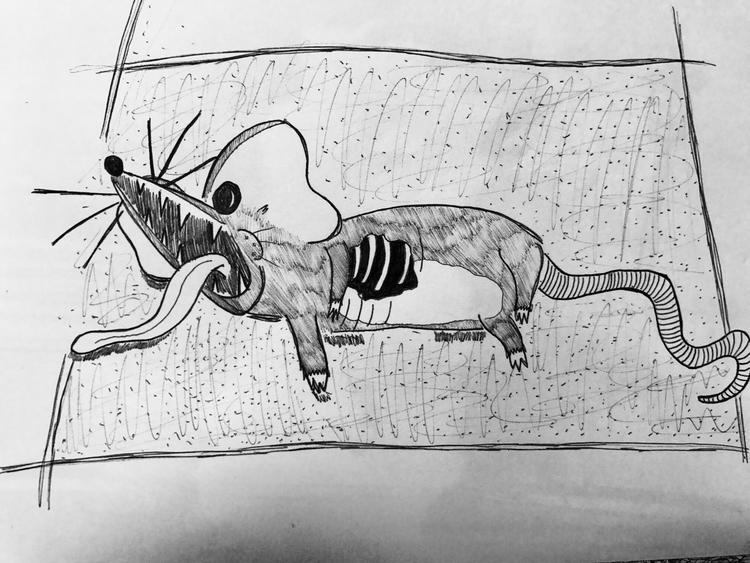 deadmau5 - art, pen, penart, illustration - pleasantcynic | ello