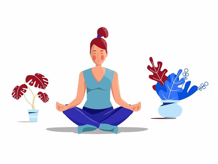 Yoga - Renderforest, animation, animationdesign - renderforest | ello