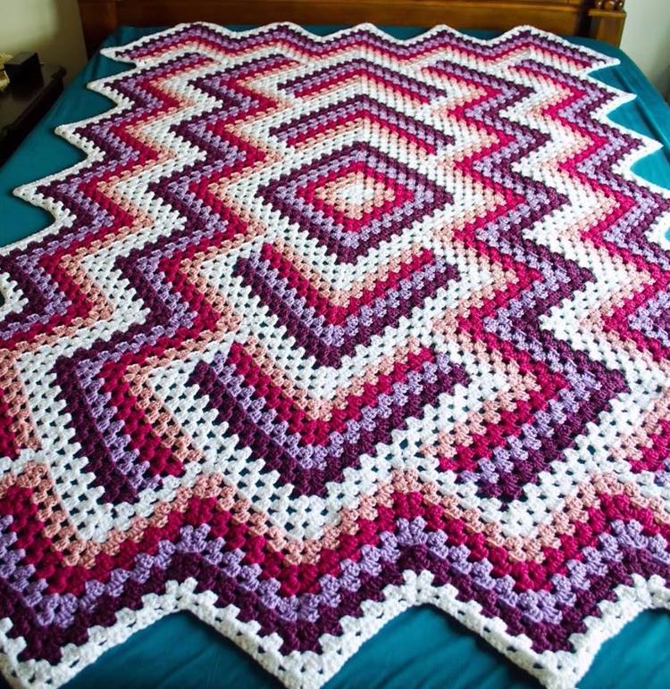 love crochet blanket free tutor - carlabreda | ello