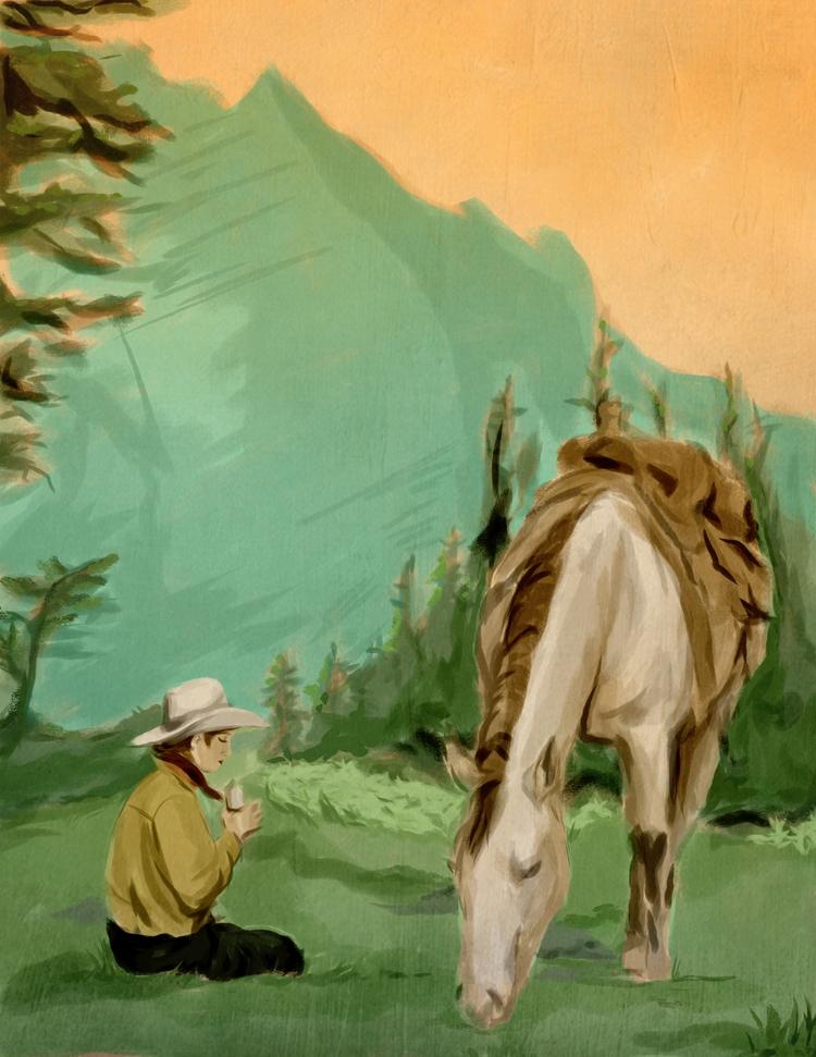 Cowgirl - landscapepractice, landscape - cariguevara | ello