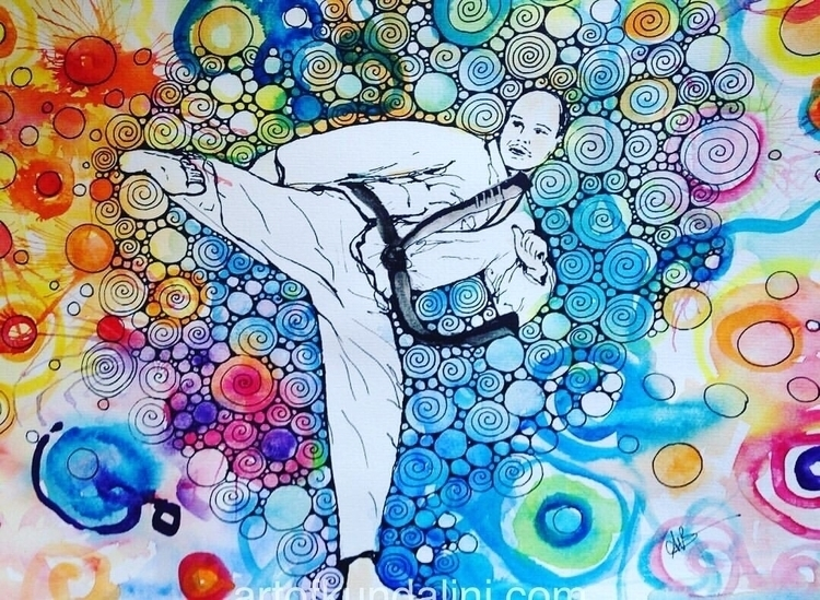 great teachers - taekwondo, art - arnabaartz | ello