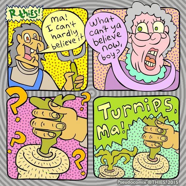 Turnips, Ma - rthies, cartoonism - rthies | ello