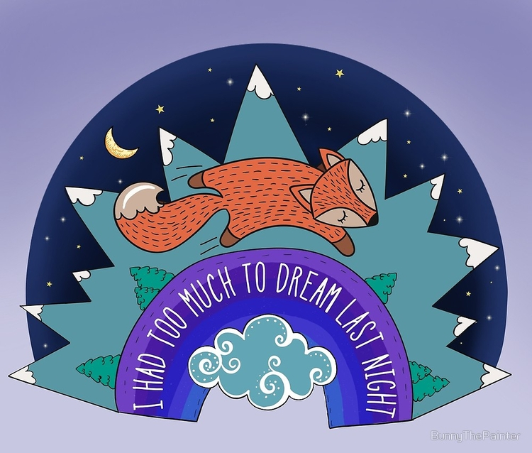 Dream Night happy piece. fully  - littlebunnysunshine | ello