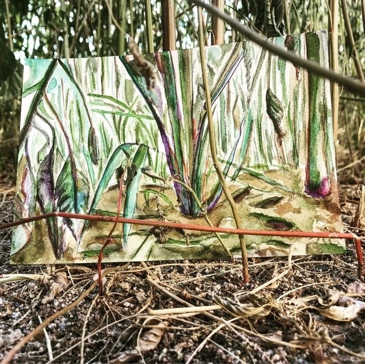 painting natural habitat - elena_k_mak | ello