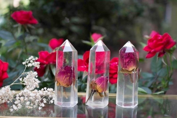 Garden Rose Crystals. LIVE sale - solarasgarden | ello