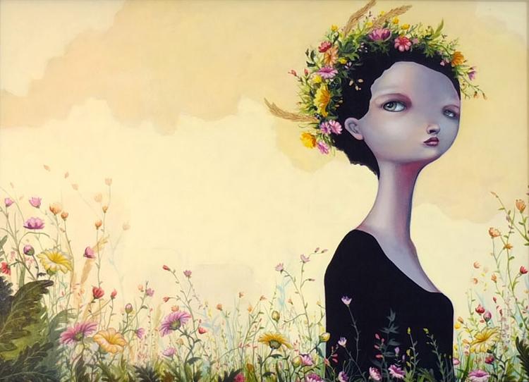 long sun - anneangelshaug, art, popsurreal - anneangel | ello