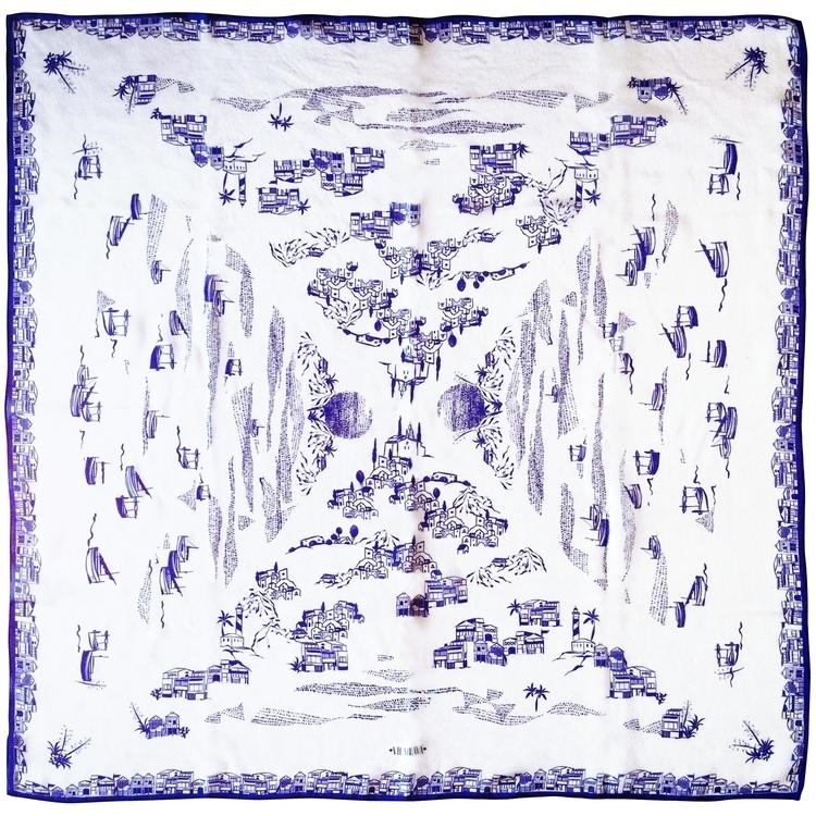 VILABLAVA scarf | SS17 SCARFS C - vilablava | ello