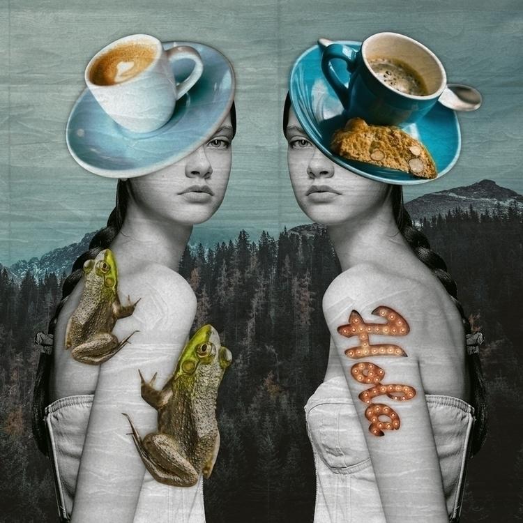 FateTroppoBelle, collage, digitalart - fatetroppobelle | ello