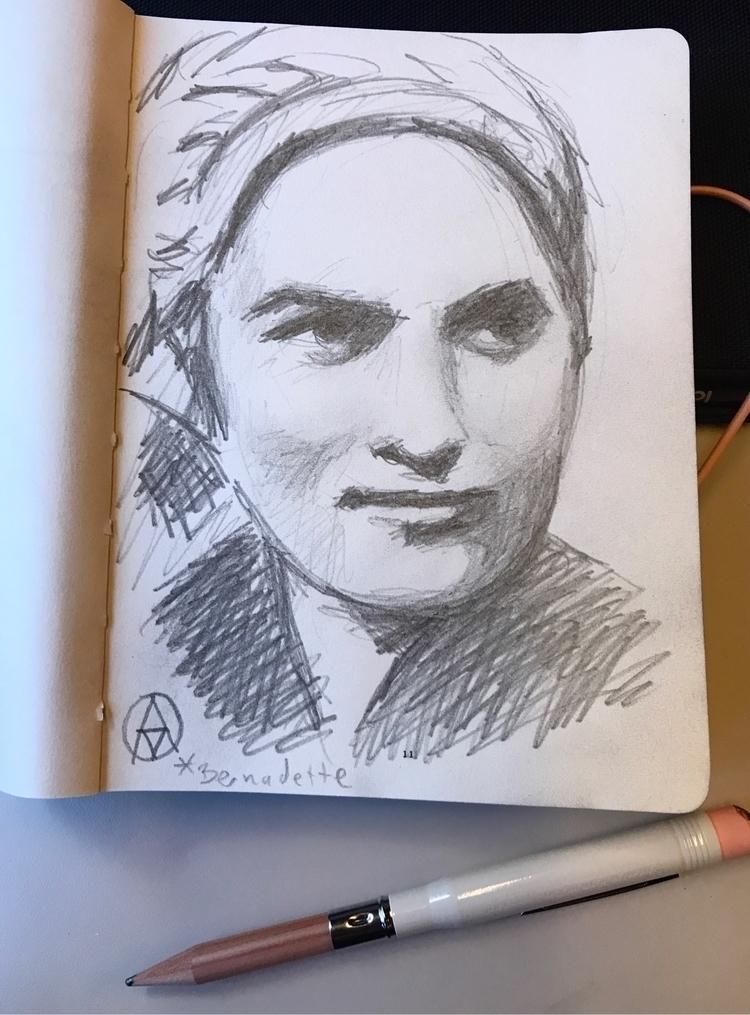 Sketching train Paris - sketchbook - arnevanoosterom | ello
