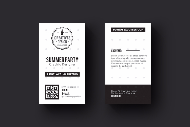 Download Business card: Free De - zaas | ello
