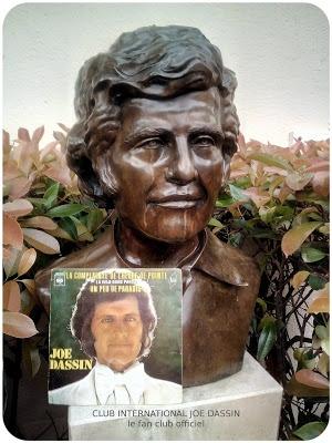 Le Buste en bronze Joe Dassin à - clubjoedassin | ello