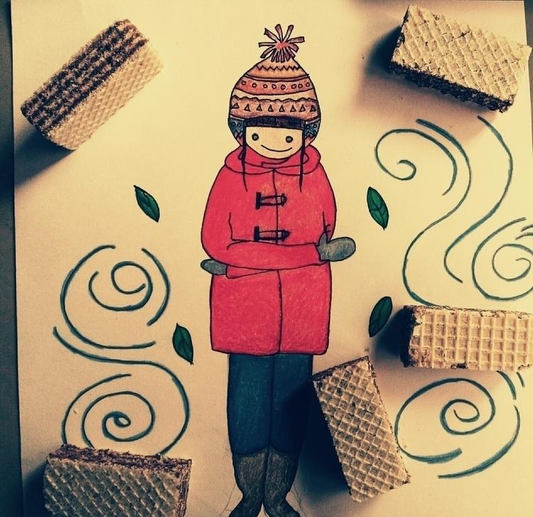 2 times year: autumn waiting au - lowyn   ello