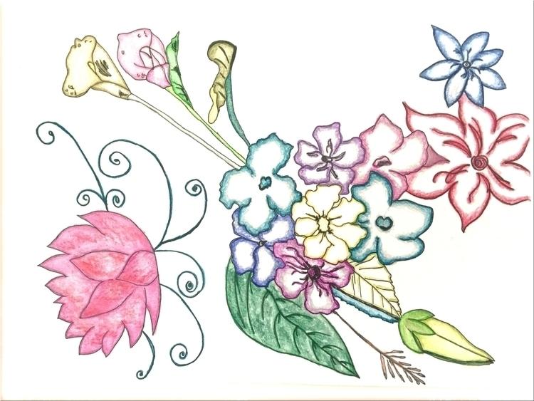 Love answer, flower, grow. John - lowyn | ello