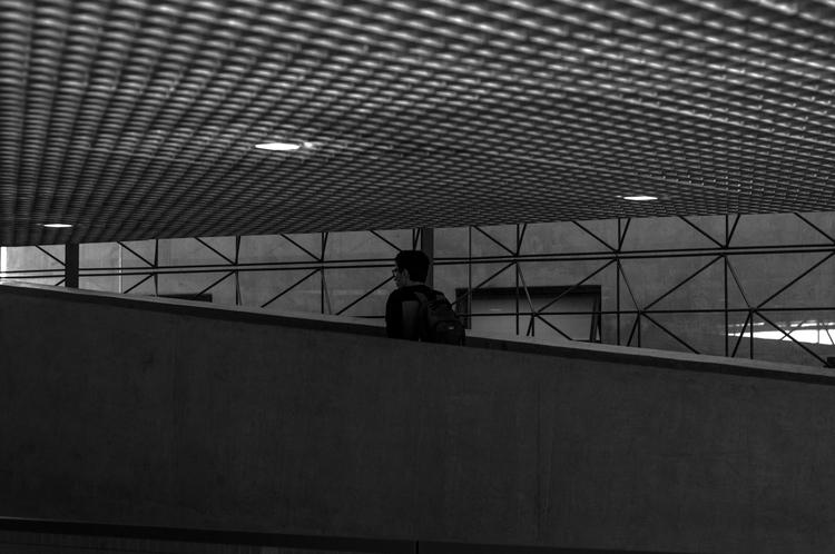 Lines - bw, architecture, monochromatic - dennermac | ello