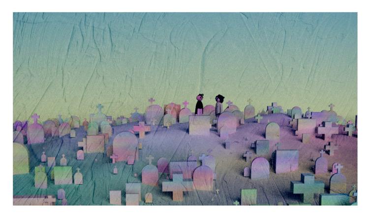 cemetery painting (2017 - mtndew | ello