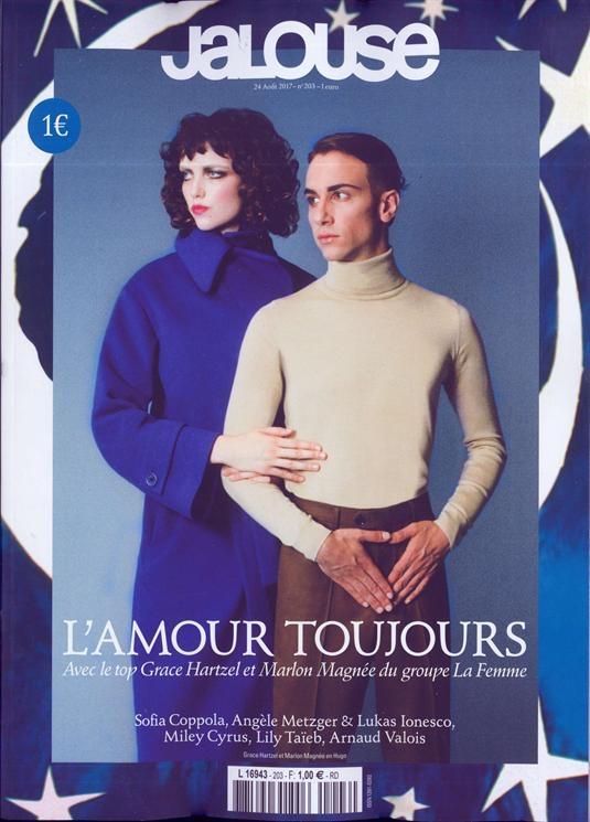 2017 Arnaud Valoi - Jalouse, August - magazinecafestore | ello