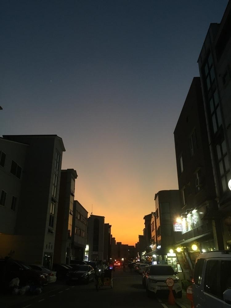 sunset, hwasung, korea - monicasong | ello