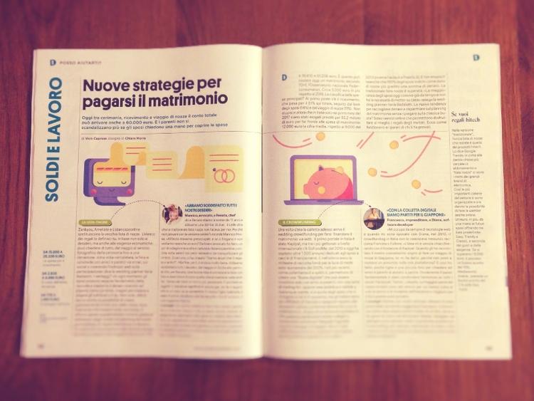 week illustrations Donna Modern - chiara_morra | ello