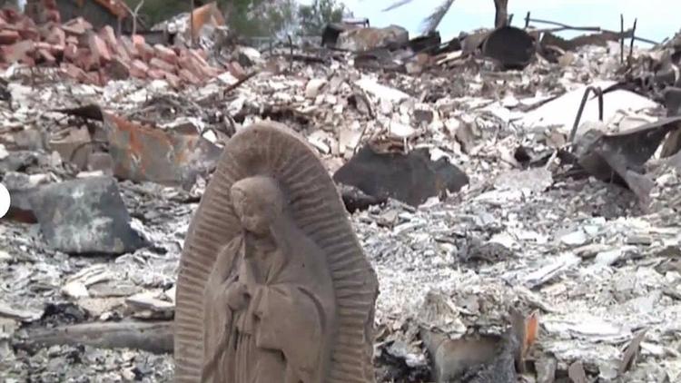 Estatua de Virgen María queda i - codigooculto | ello