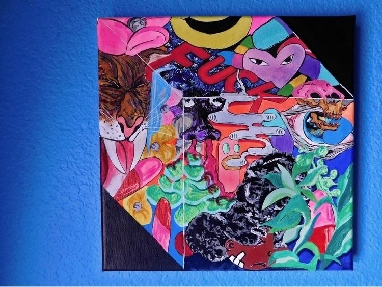 Artist Block    - artwork, art, canvas - drugquests   ello