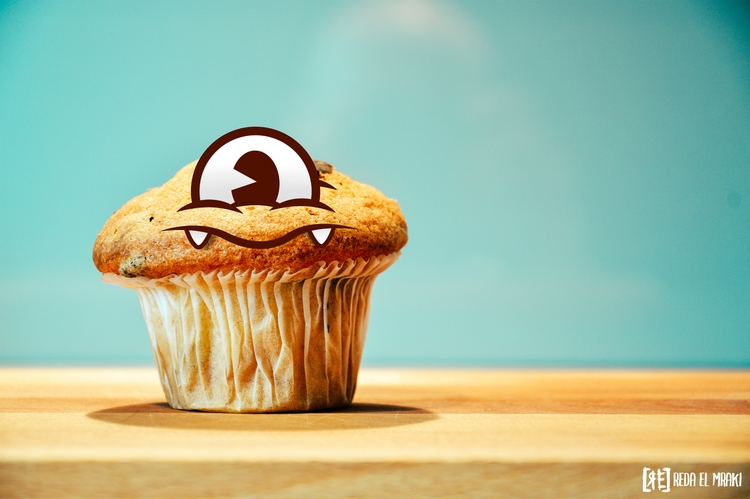 cute muffin cool stuff design - ello - redaelmraki | ello