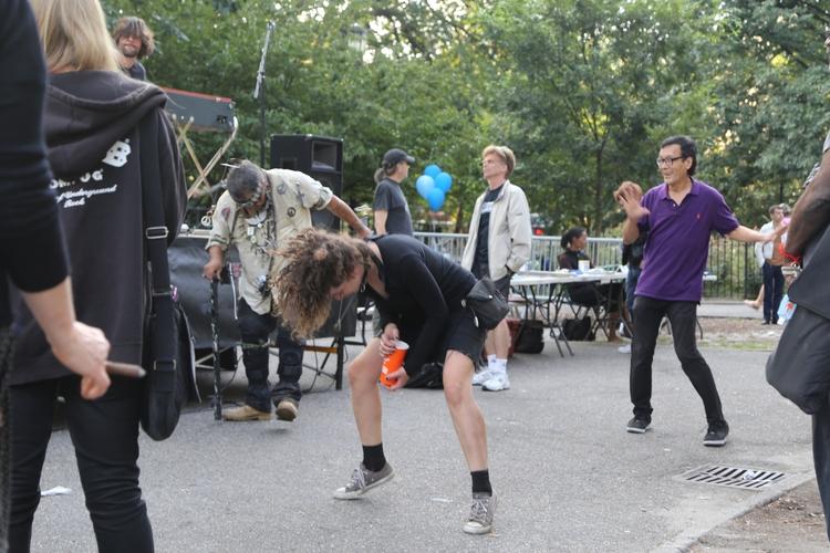 **Punks Dancing** People dancin - kevinrubin | ello