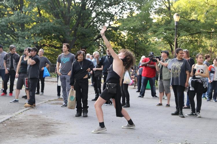 **Punk Dancing** woman dancing  - kevinrubin | ello