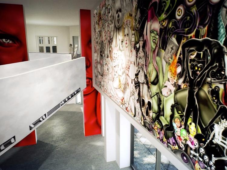 Largest Street Art Museum Openi - valosalo | ello