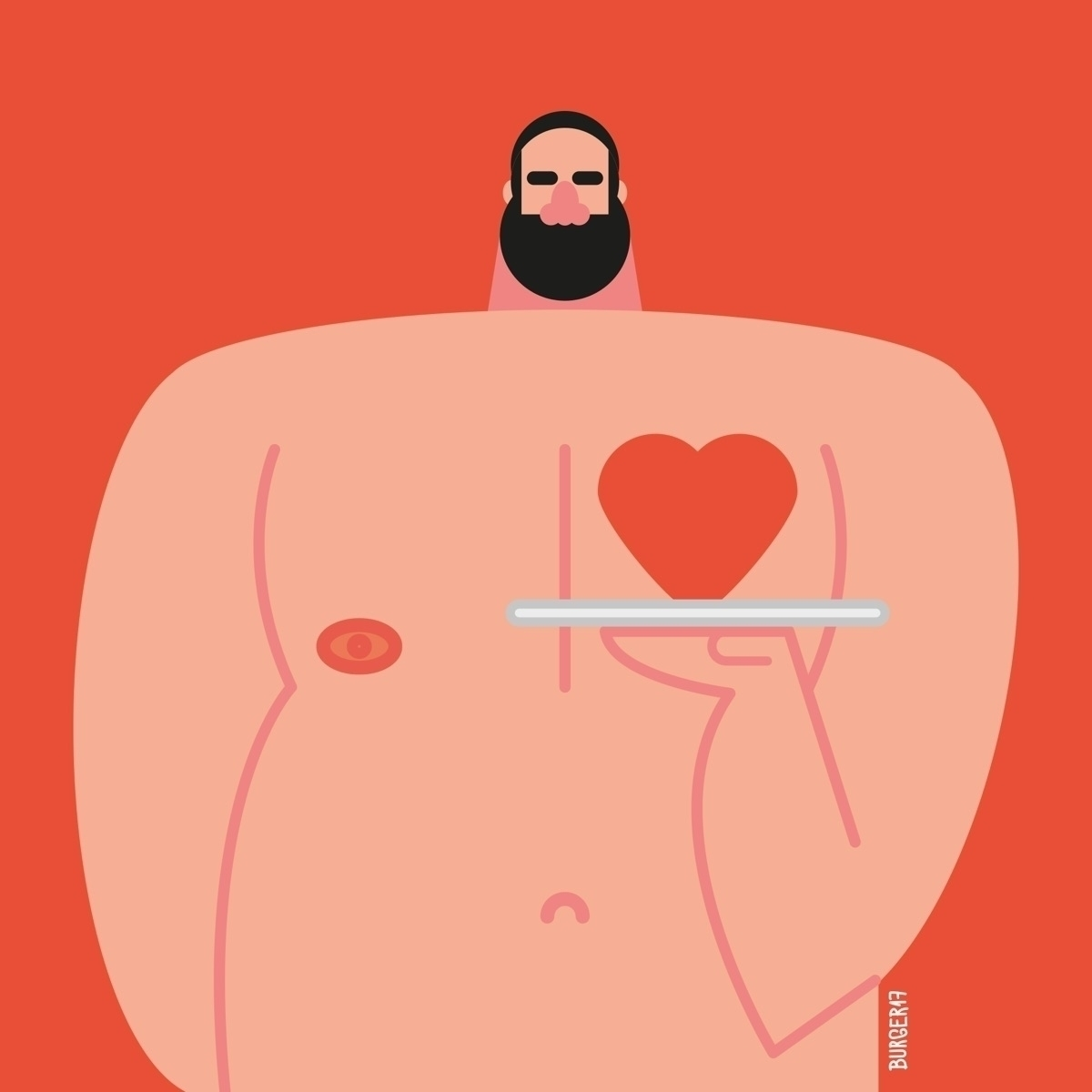 illustration, bear, oso, urso - eduardoburger | ello