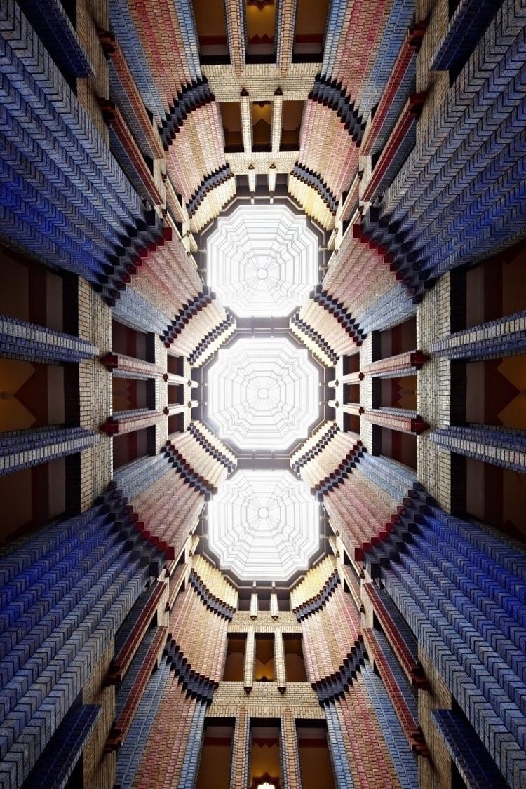 PETER Dome Hall Farbwerke Hoech - bauhaus-movement | ello