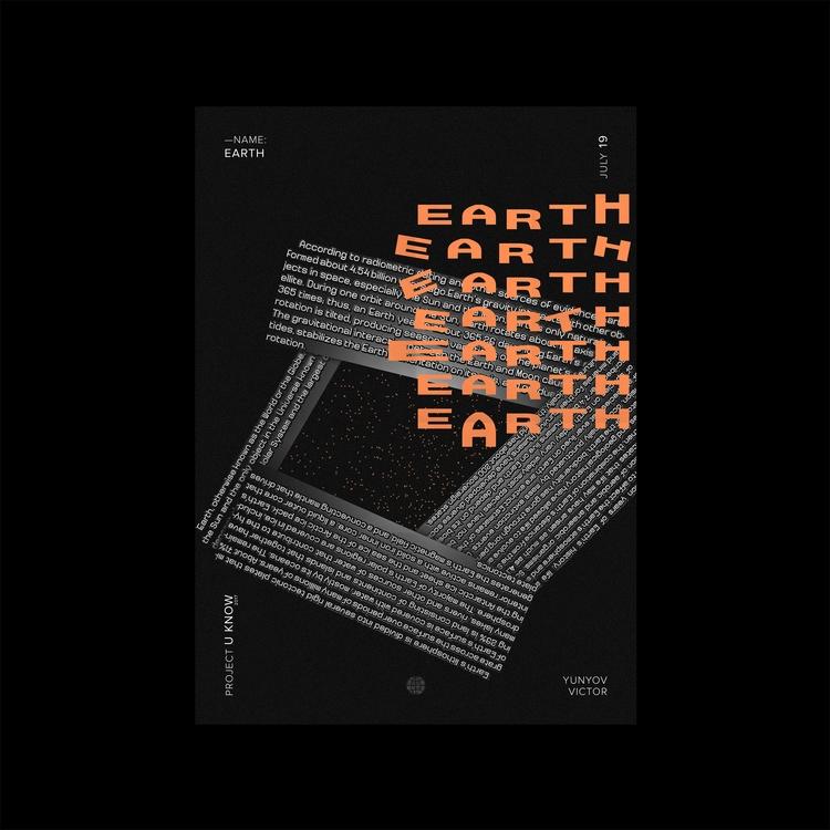 Project U_KNOW 2017 / Earth - viktordry | ello