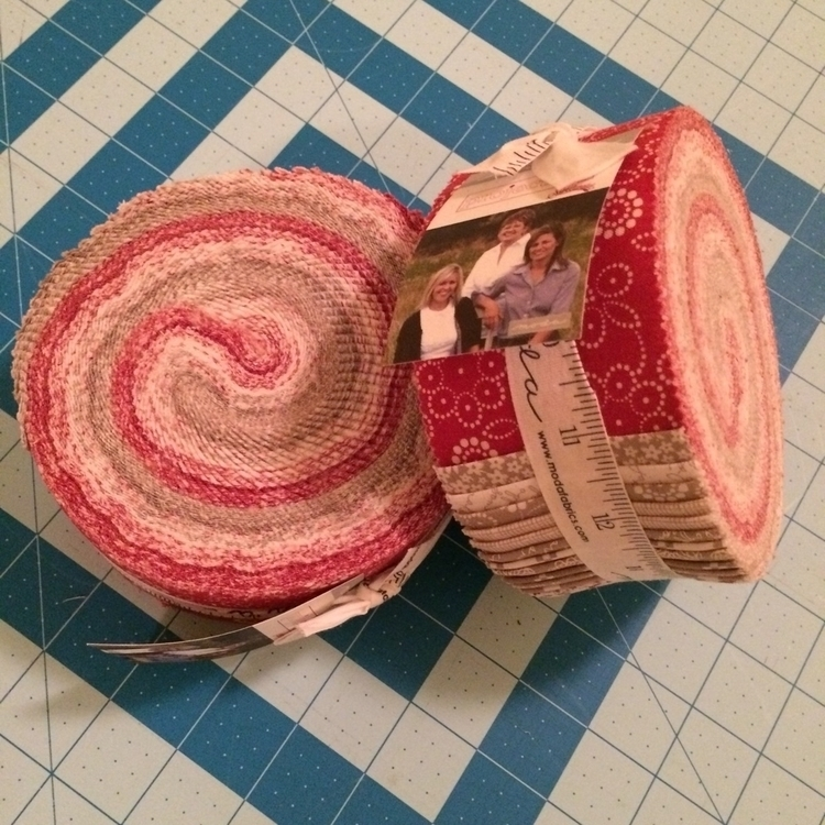 couple jelly rolls Project Red  - mkkp_quilter | ello