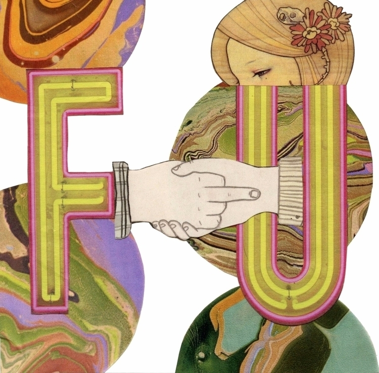 - Hand cut Collage Nicole Sept  - strangeworld | ello