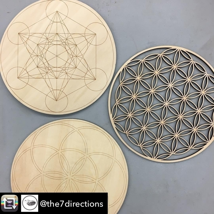 Repost - Flower life, metatron  - the7directions | ello