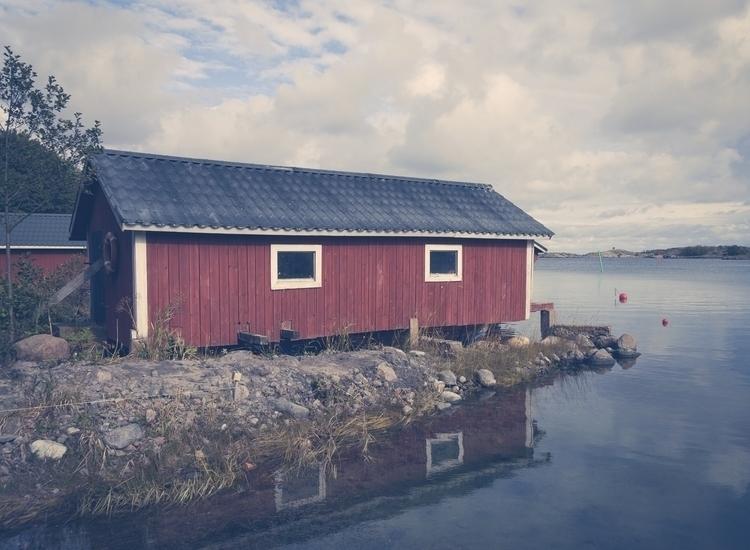 Boathouse - photography, landscape - anttitassberg | ello
