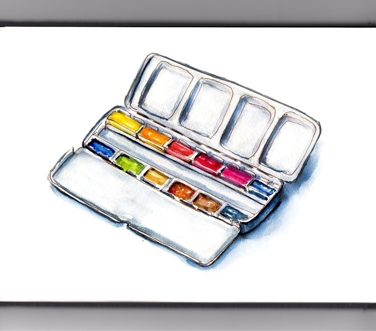Art Supplies  - doodlewashclub, WorldWatercolorGroup - doodlewash   ello