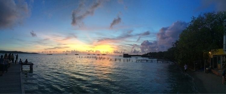 Irma - borinquen, Puertorico, sunset - rcancel | ello