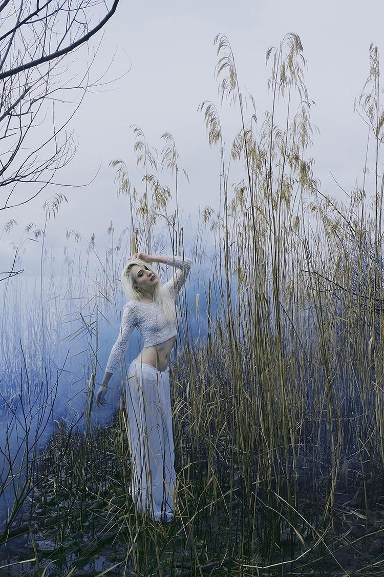 """Violet White"" — Photographer:  - darkbeautymag | ello"