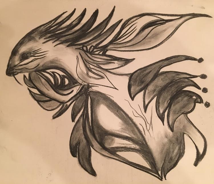 charcoal amorphous ferret - helenaugusta | ello