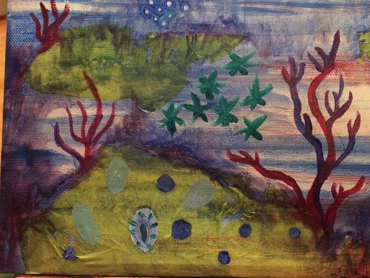 ocean lyfe - oil paper tissue - helenaugusta | ello