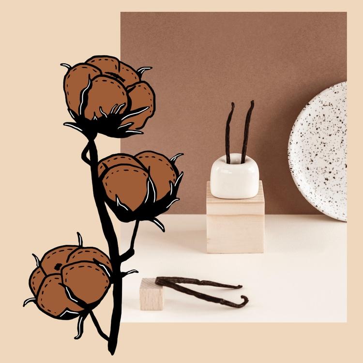 Vanilla / Cotton autumny neutra - tlvbirdie | ello