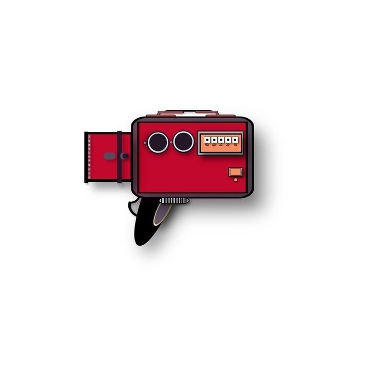 vintage - Camera, MovieCamera, HandHeldCamera - zackmto   ello
