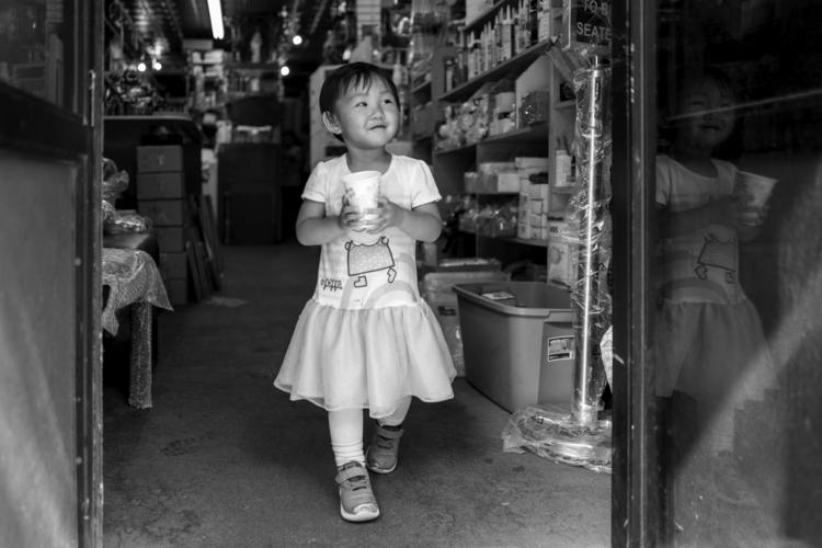 Water Bearer Chinatown, NYC - giseleduprez | ello