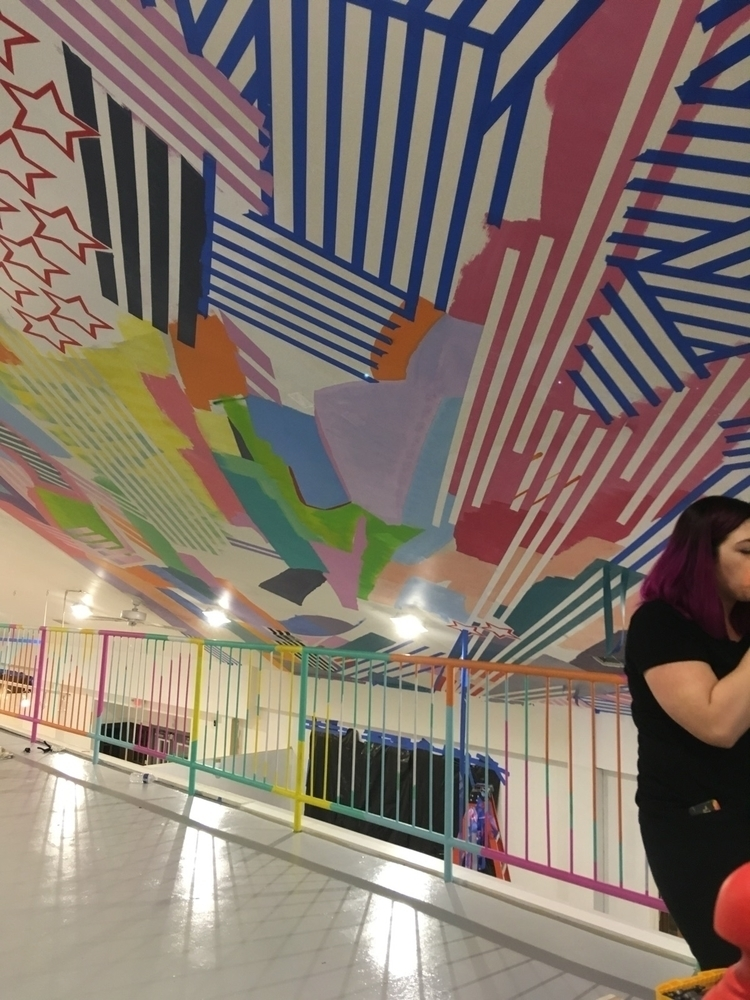 Ceiling mural. WIP - art - zimbro | ello