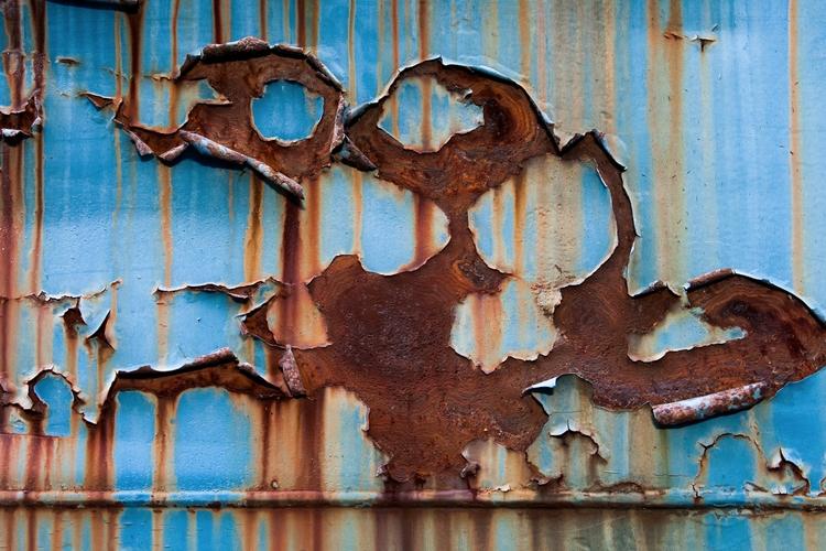 Detail corrosion train car. Vir - jdharvey | ello