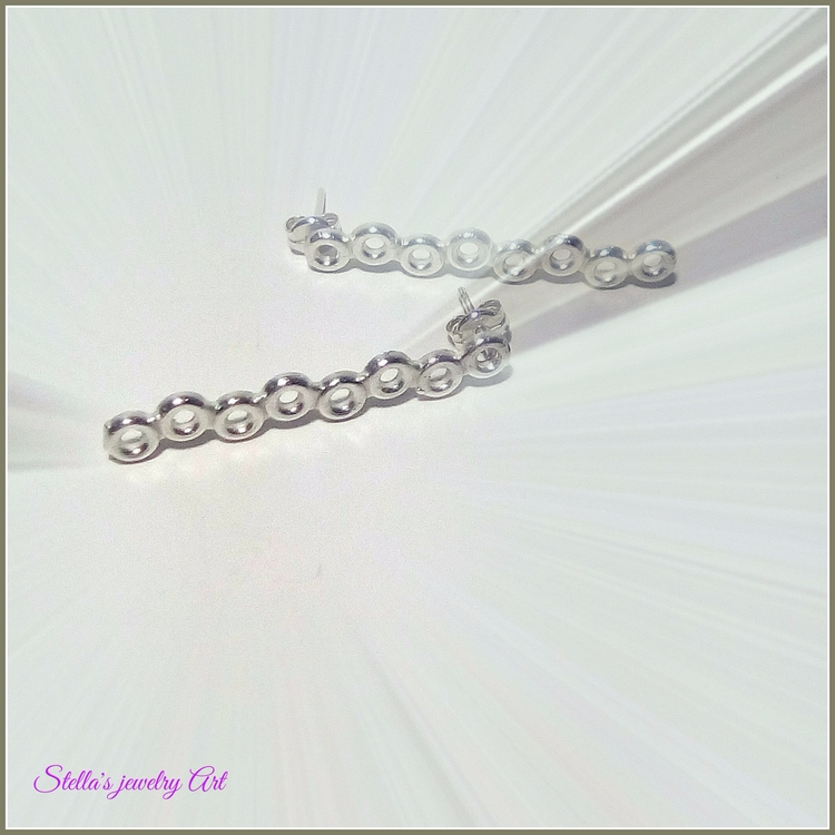 Simplicity!!!! minimal pair ste - stellasjewelryart | ello